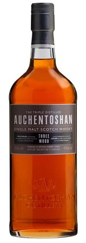 auchentoshan three wood scotch whisky