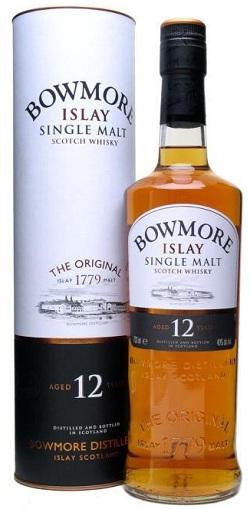 bowmore 12 scotch whisky