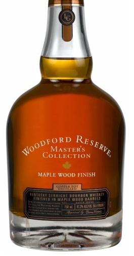 woodford reserve maple finish