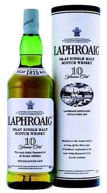 laphroaig 10 year scotch whisky