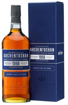 Auchentoshan Introduces 1998 Vintage Scotch Matured in Sherry Casks