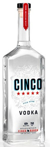 Cinco Vodka Review