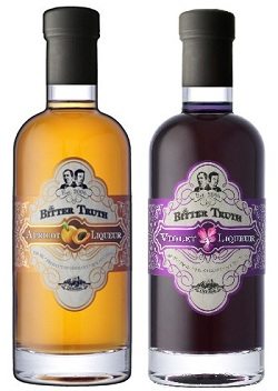bitter truth apricot and violet liqueurs