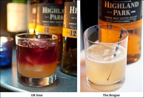 Highland Park Scotch Whisky Cocktails