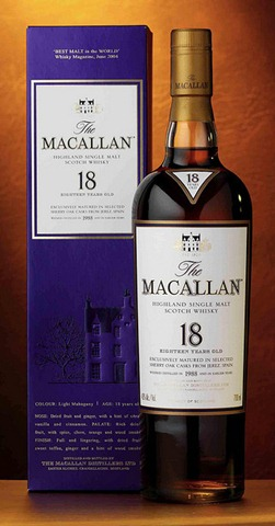 The Macallan 18 Year Old Sherry Oak Scotch Review