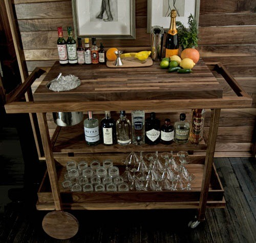 The New Traditionalists Bar Cart