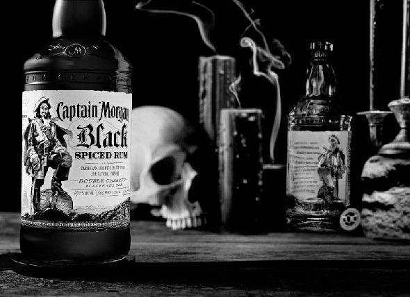 Introducing Captain Morgan Black Spiced Rum
