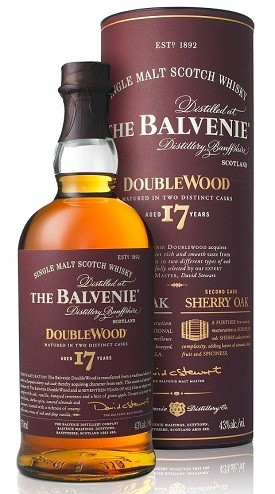 The Balvenie Launches 17 Year Old DoubleWood Scotch
