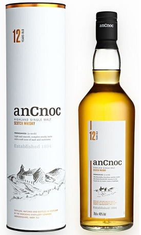 anCnoc 12 Year Old Scotch Whisky Review