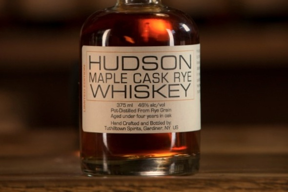 hudson maple cask rye whiskey