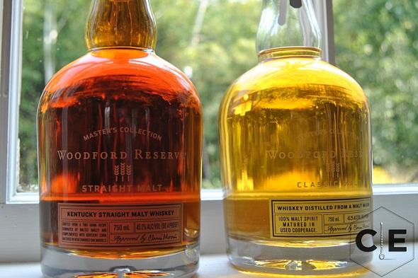 woodford reserve malt whiskeys