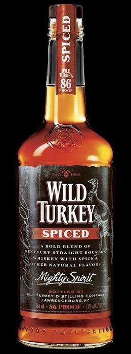wild turkey spiced