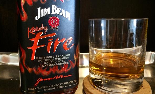 jim beam kentucky fire