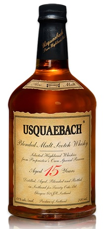 usquaebach 15 year scotch