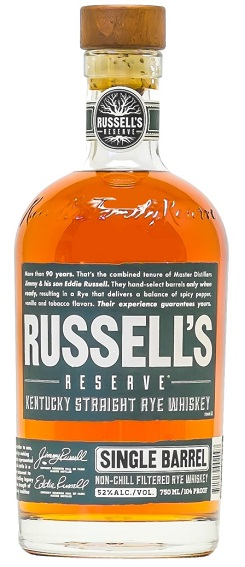 russels reserve single barrel rye