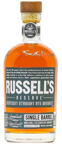 russels reserve single barrel rye