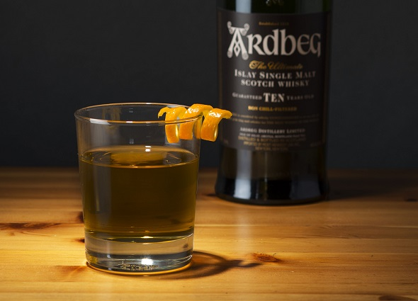 Ardbeg Black Scott Cocktail