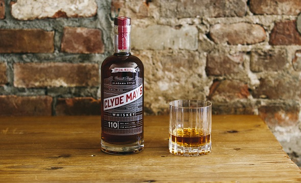 clyde may's special reserve alabama whiskey