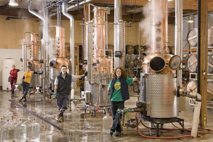 Clear Creek Distillery Staff