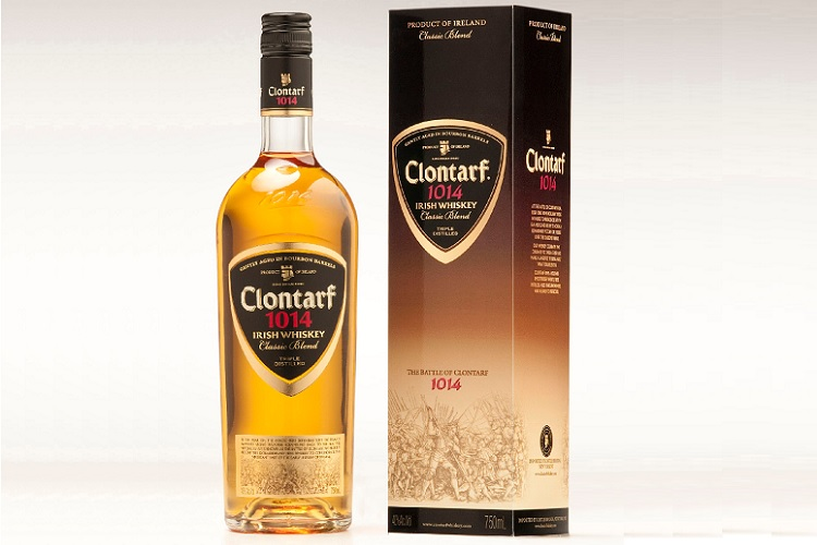clontarf 1014 irish whiskey