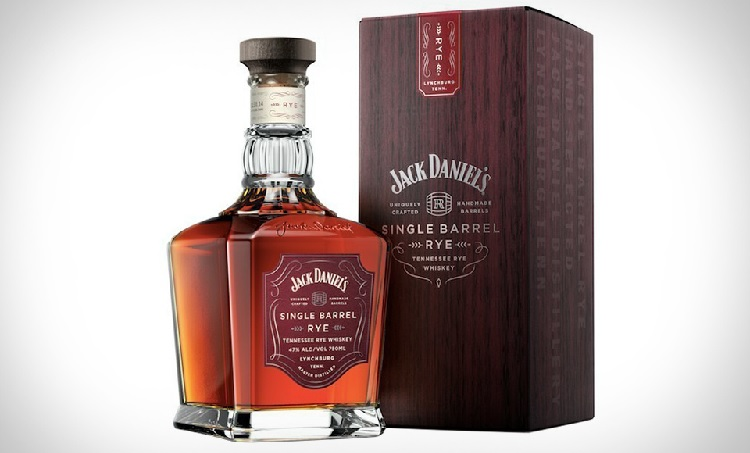 jack daniels single barrel rye