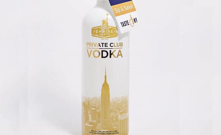 empire spirits private club vodka