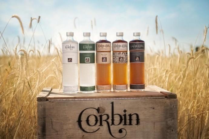 corbin cash sweet potato spirits bottles