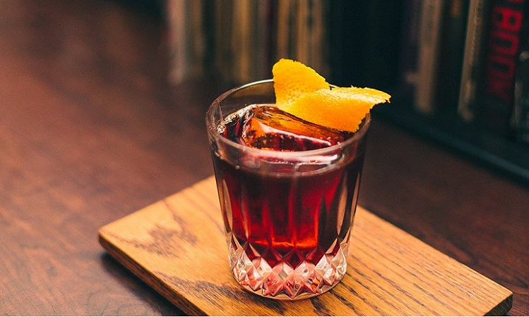 cold brew coffee negroni