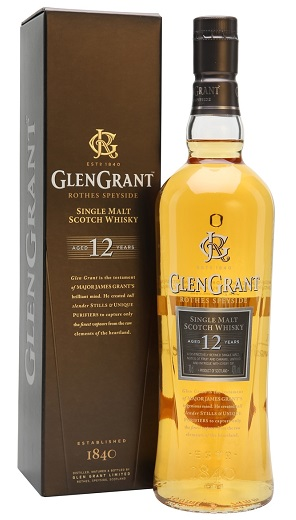 glen grant 12 year scotch whisky