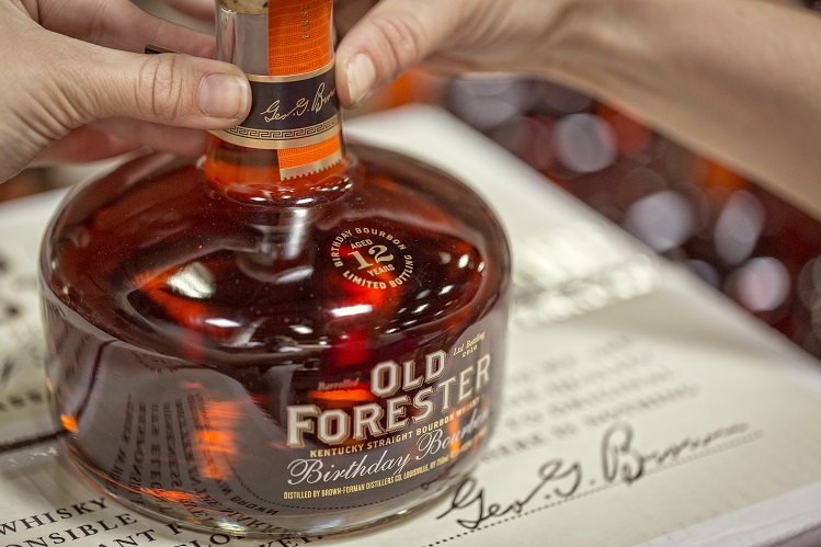 old forester 2016 birthday bourbon