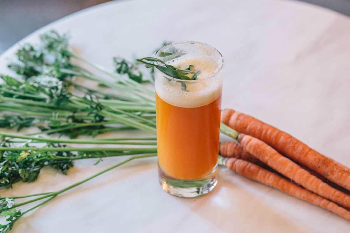 healthy carrot cocktails