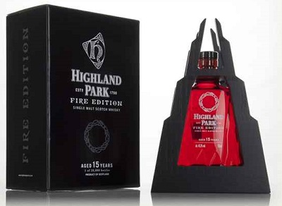 highland park fire whisky