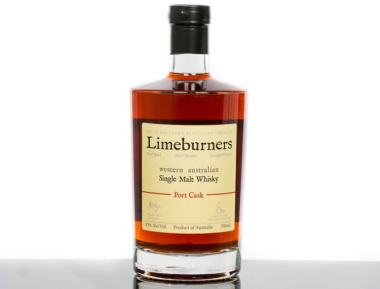 limeburners single malt port cask whisky