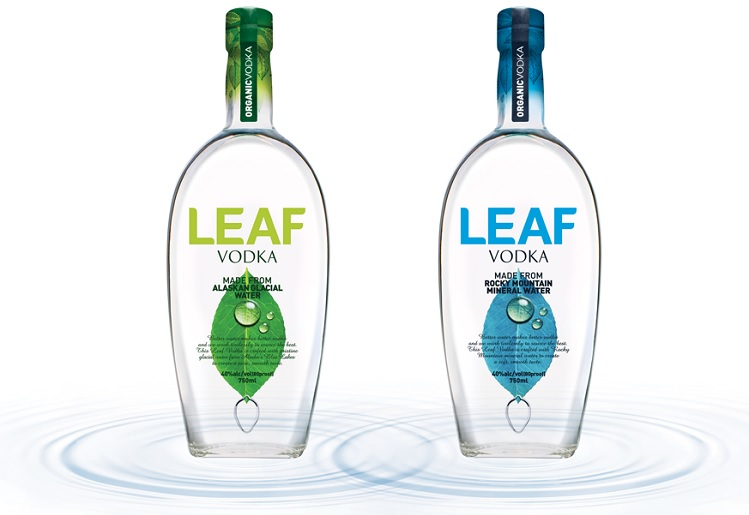 leaf organic vodka