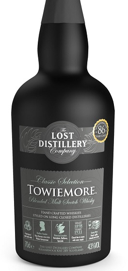 lost distillery towiemore whisky