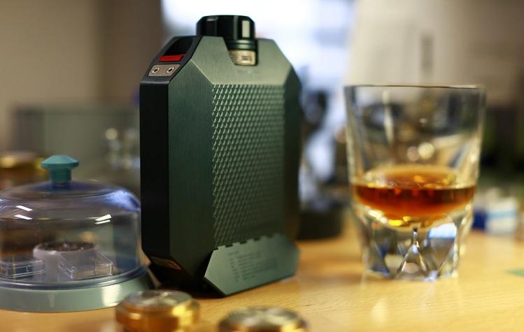 macallan x urwerk flask