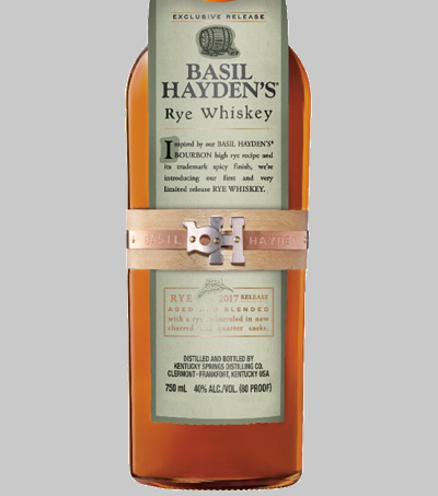 basil hayden's rye whiskey review