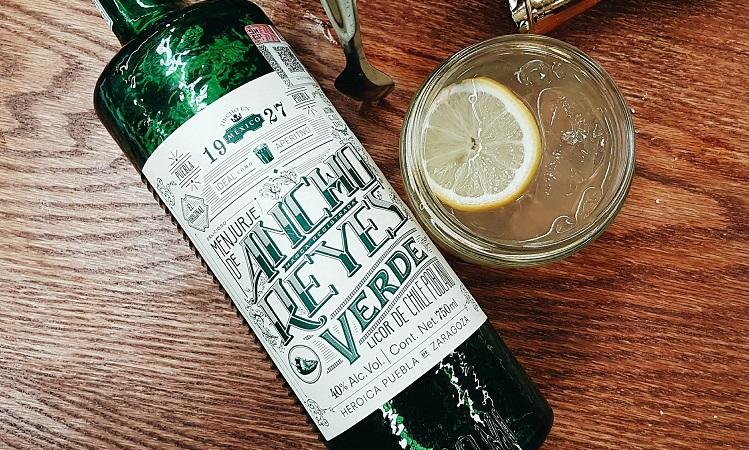 ancho reyes verde poblano liqueur