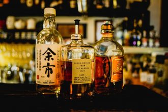 japanese whisky bottles