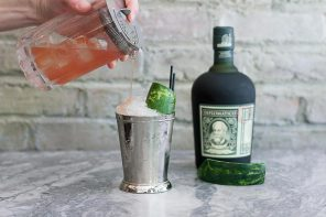 mint julep variation