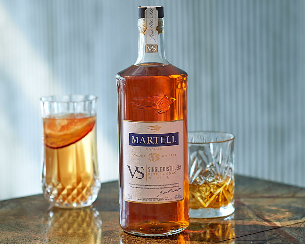 martell vs single distillery cognac