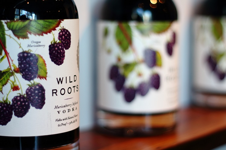 wild roots marionberry vodka