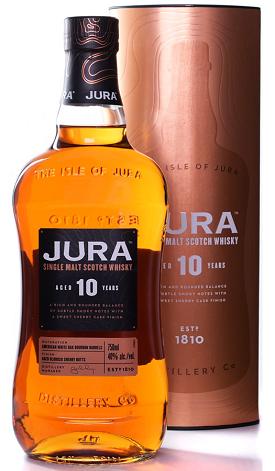 jura 10 scotch whisky