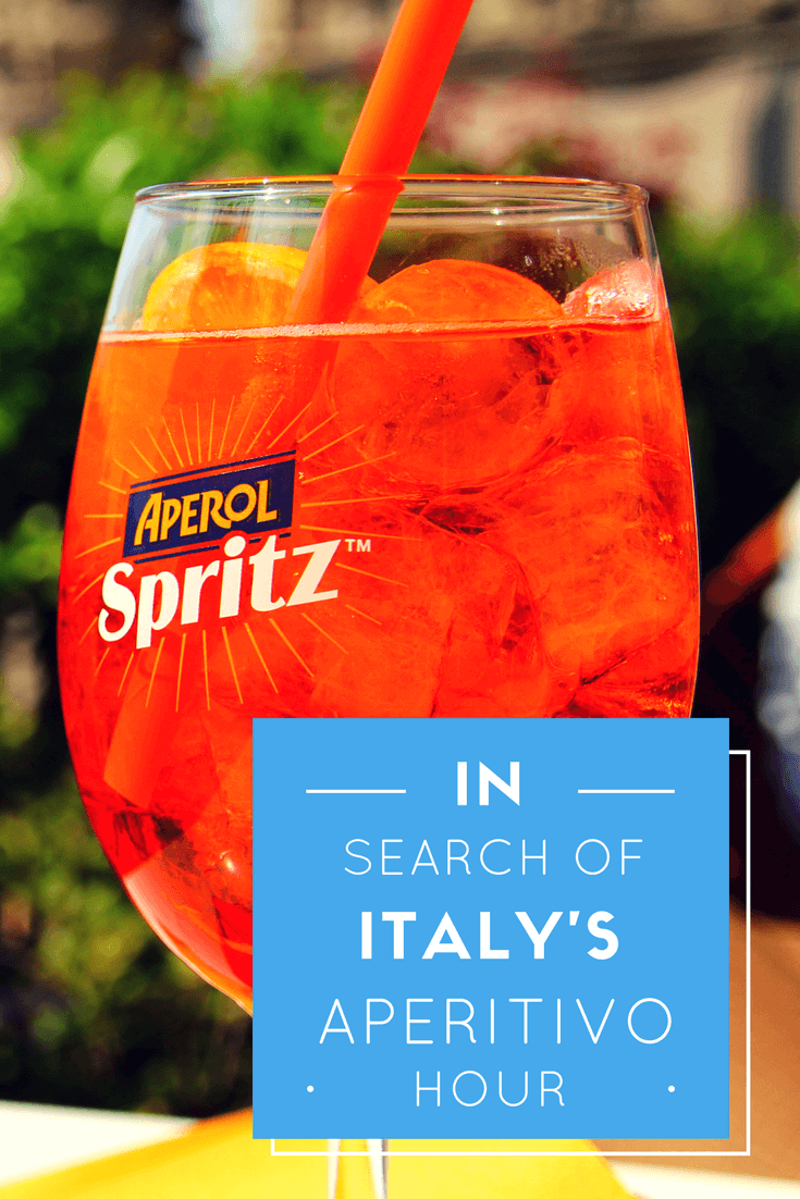 In Search of Italy's Aperitivo Hour
