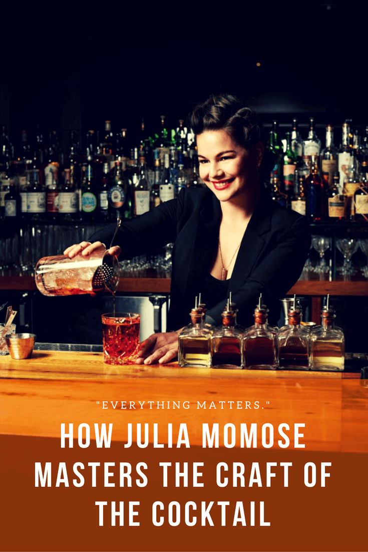 How Julia Momose Masters the Craft of the Cocktail | Bevvy