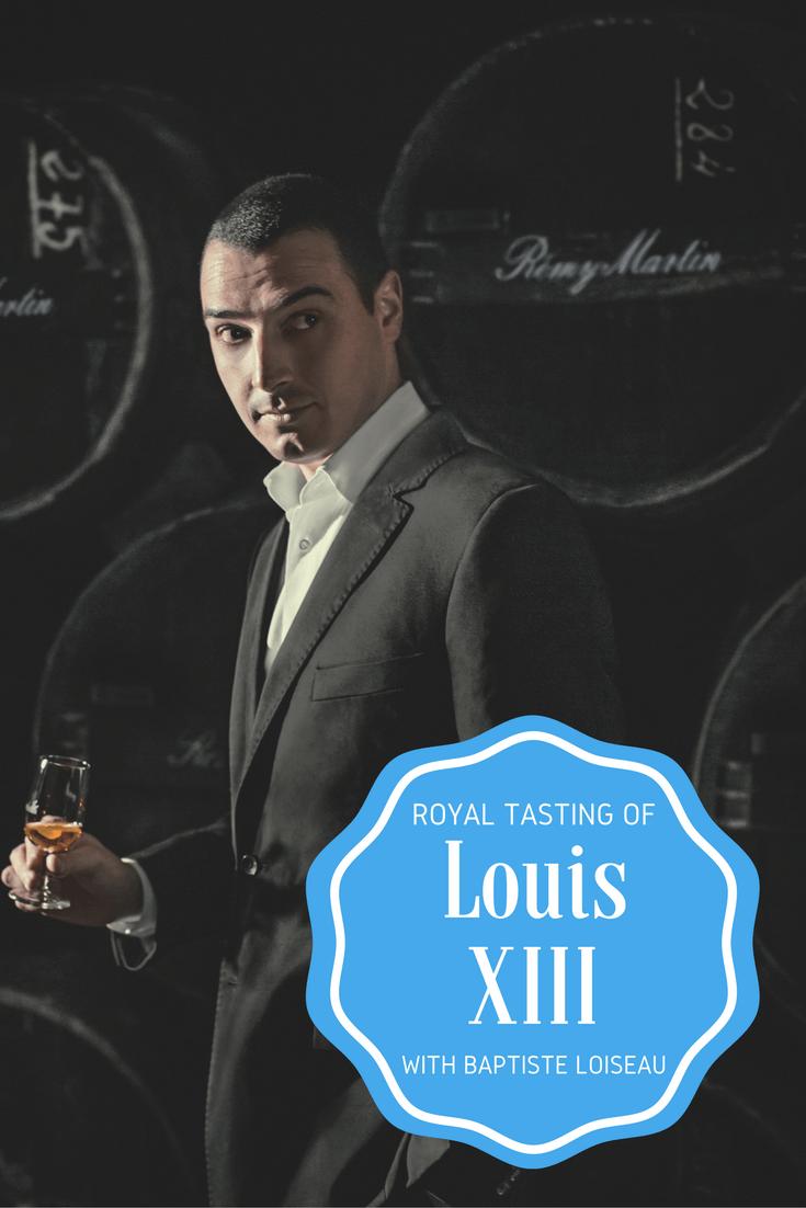 Louis XIII - A Royal Tasting with Baptiste Loiseau
