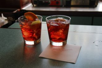 Negronis at Bar Luce | Bevvy