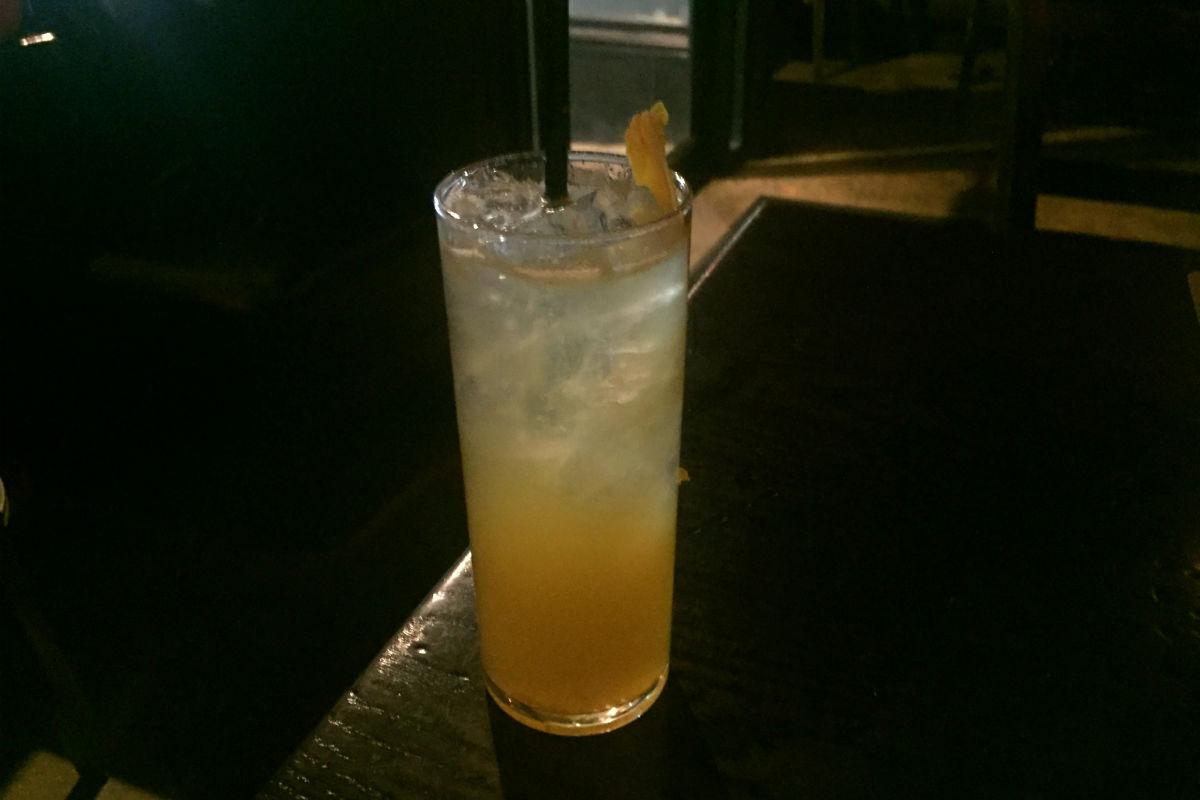 21 Temple Cocktail, JM Curley