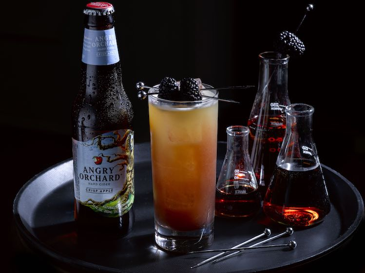 Halloween Cider Cocktail