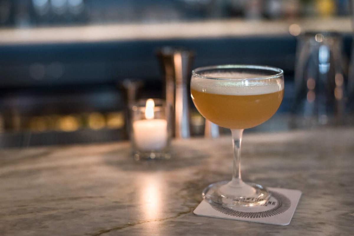 Roscoe Pound Cocktail, the Hawthorne